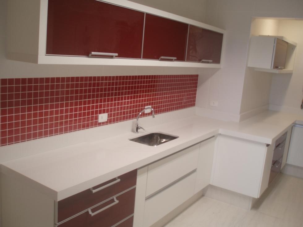 Cozinha Vermelha E Branca Uma à ³tima Opà §à £o De
